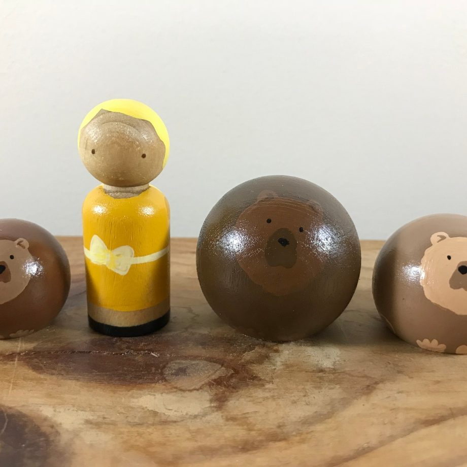 Goldilocks and the Three Bears (Set of 4)