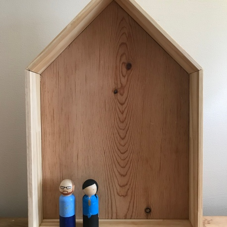 Doll House Shaddow Box (One Level)