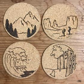 US Landscapes Coasters