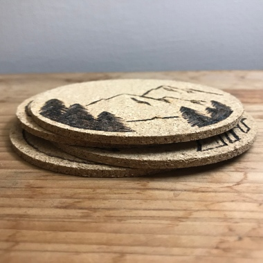 US Landscapes Coasters