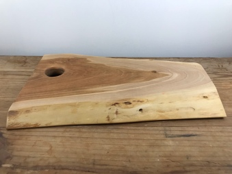 Live Edge Cherry Wood Serving Tray
