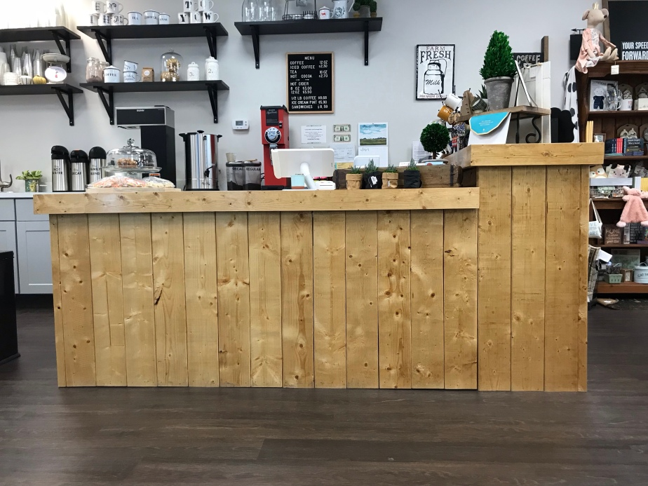 Counter and Bar with Display