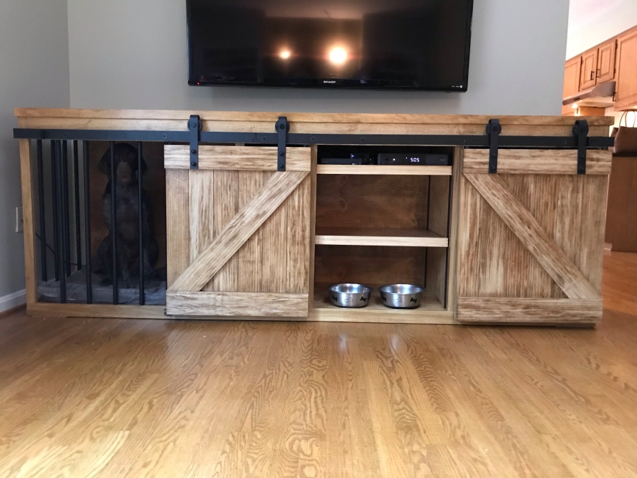 Entertainment Center and DogKennel